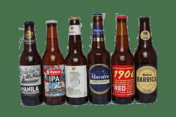 Pack de 6 cervezas premium españolas