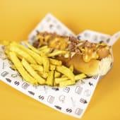 Bacon & Cheese Hot Dog