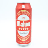 Cerveza Mahou 5 estrellas lata (50 cl.)