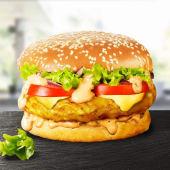 Cheeseburger de Pui Sandwich