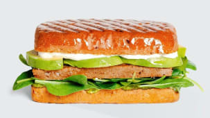 Сендвіч Сейтан+авокадо