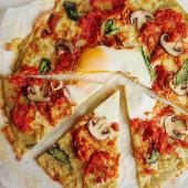 Pizza Pollo Mechado