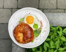 Бейгл бекон та яйце (340г)
