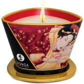 Vela de masaje Romance. Aroma fresas con cava (170ml)