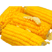Elote con mantequilla