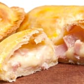 Media docena de empanadas de jamón y queso