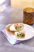 Sandwich labné végétarien