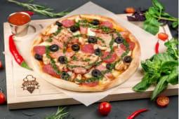 Піца «Чотири м'яса»