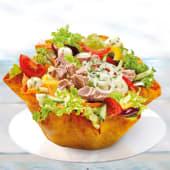 Salată cu ton și mozzarella