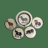 African Animal Kingdom Coasters