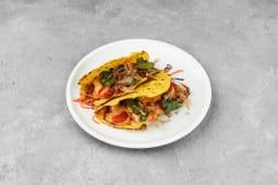 Тако зі свіжим тунцем, овочі, боніто - гостра страва (210г)