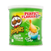 Pringles sour cream & onion (40 g.)