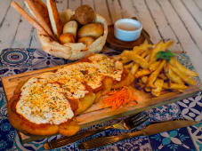 Milanesa de Carne con Muzzarella