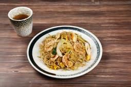G86 Spaghetti di riso con frutti di mare