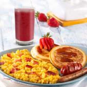 Desayuno de la casa
