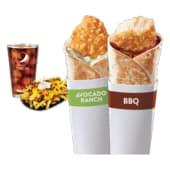 Combo: 1 Griller Avocado Ranch y 1 Griller BBQ + FFS + Bebida 32oz