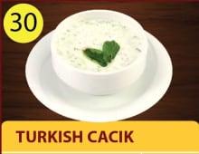Turkish cacik