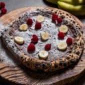 Pizza z Nutellą i bananem