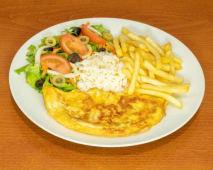 Omelete de Atum