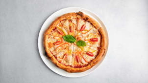Пицца с индейкой sous vide