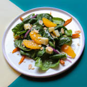 Салат з печеною морквою і апельсином (165г)