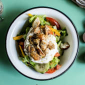 Greek food lab salad