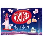 Kitkat mini sakura & sake