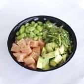Salmón poke bowls