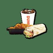 კომბო ვრეპი ქათმით / Combo Breaded Chicken Wrap