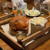 Chicken blue burger (425г)