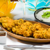 Buñuelos de pollo (chicken pakora)