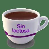 Vaso de chocolate sin lactosa