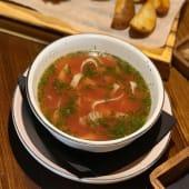 Томатний суп з м'ясом (300г)