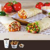 Combo Burrito (Mexicano o Tejano)