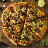 Pizza Jack Daniel's Cremosa mediana
