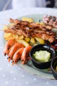 Плато з морепродуктів на двох