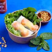 Goi cuon de langostinos y mango fresco (2 uds.)