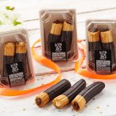 Pack 2 Choco Churros golosos de crema de vainilla