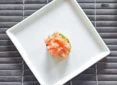 Bignè Spicy Salmon