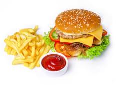 Супер Бургер з куркою і телятиною (500г)