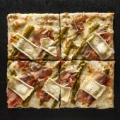 Pizza Asparagi (1/2 Teglia)