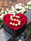 Box Roses Rouge + Chocolat