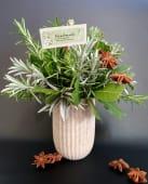 Dekoracija od začinskog bilja