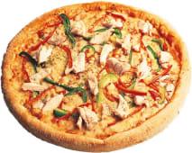 Pizza chicken grill