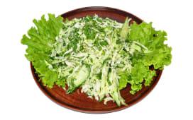 Салат зі свіжої капусти з огірком (200г)