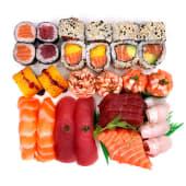 Sushi Sashimi XL (34 Peças)