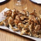 Berenjenas fritas con miel de caña ¡Muy Crujientes!