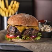 Half Pound Cheesy Burger