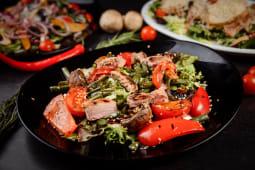 Гриль салат (фета/телятина/свинина) (300г)