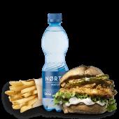 Zestaw z Fishburgerem łagodnym